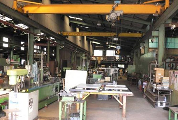 製造工場(製缶・機械加工・組立)